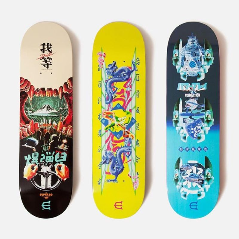 Evisen Skateboards New Series 1