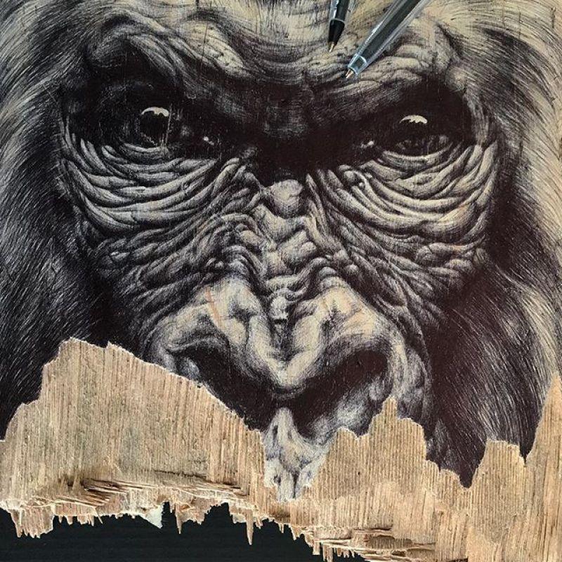 Gorilla Skateboard By Skraal 1
