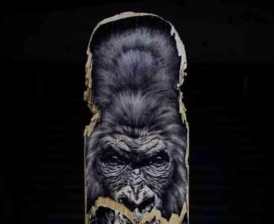 Gorilla Skateboard By Skraal