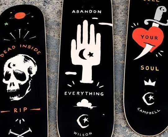 Abandon Series By Foundation Skateboards 3 E1538462724540