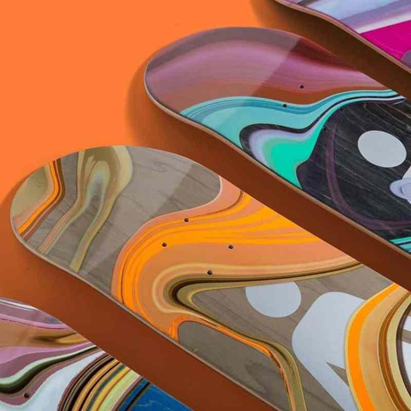 Oil Slick Series By Girl Skateboards 1