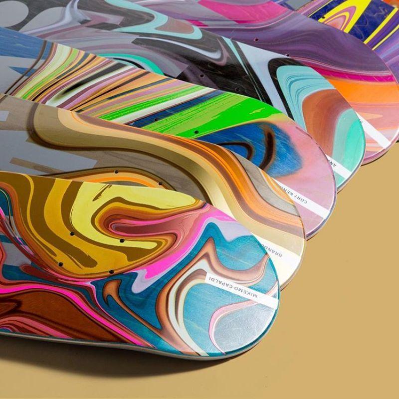 Oil Slick Series By Girl Skateboards 4