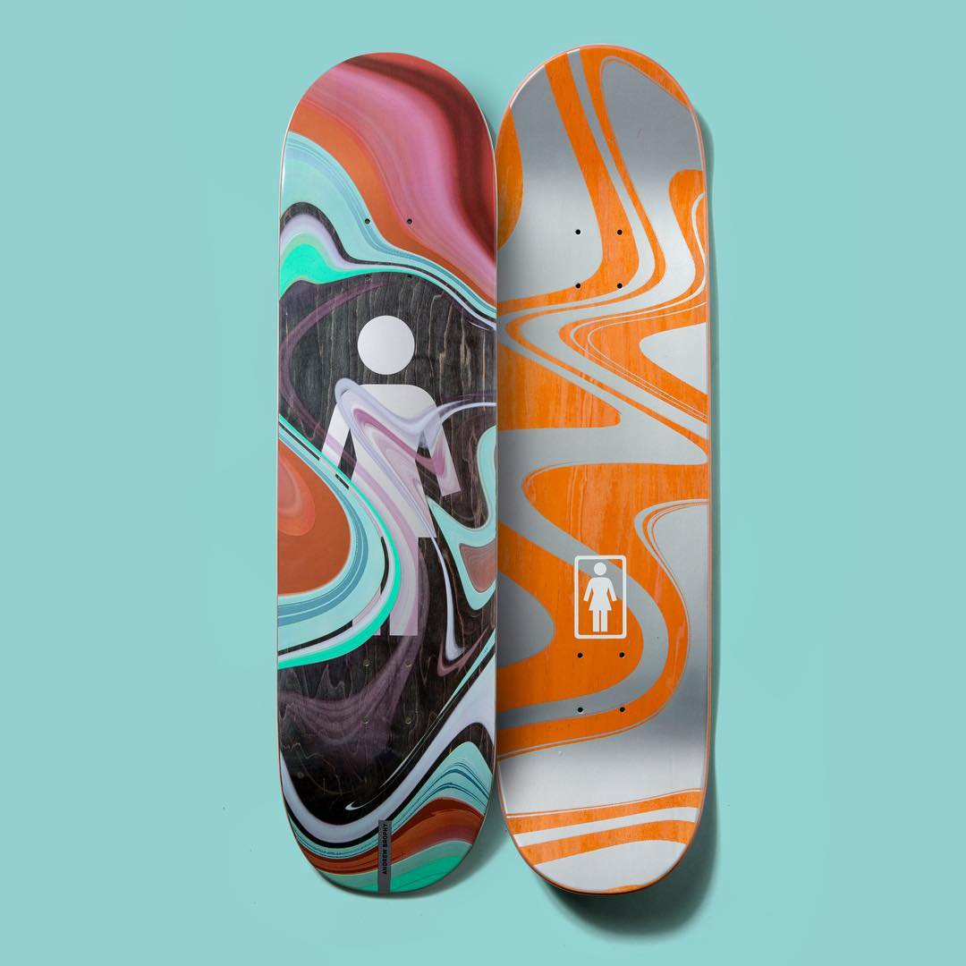 Oil Slick Series By Girl Skateboards 5