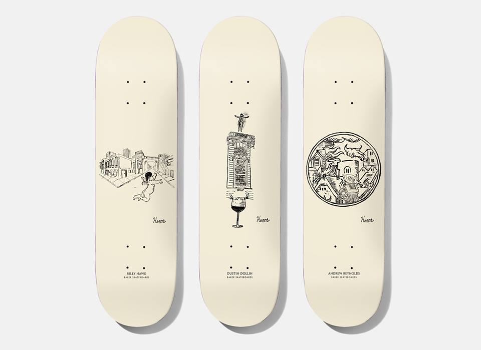 Amour Series By Honor Titus Baker Skateboards 1