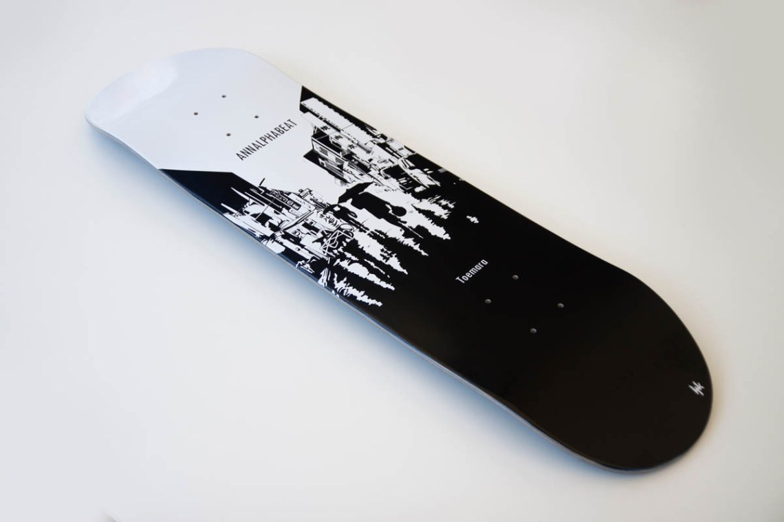 Annalphabeat Deck By Hynk Skateboards 1
