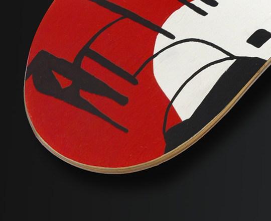 Benjamin Spark Skateboard Deck 4
