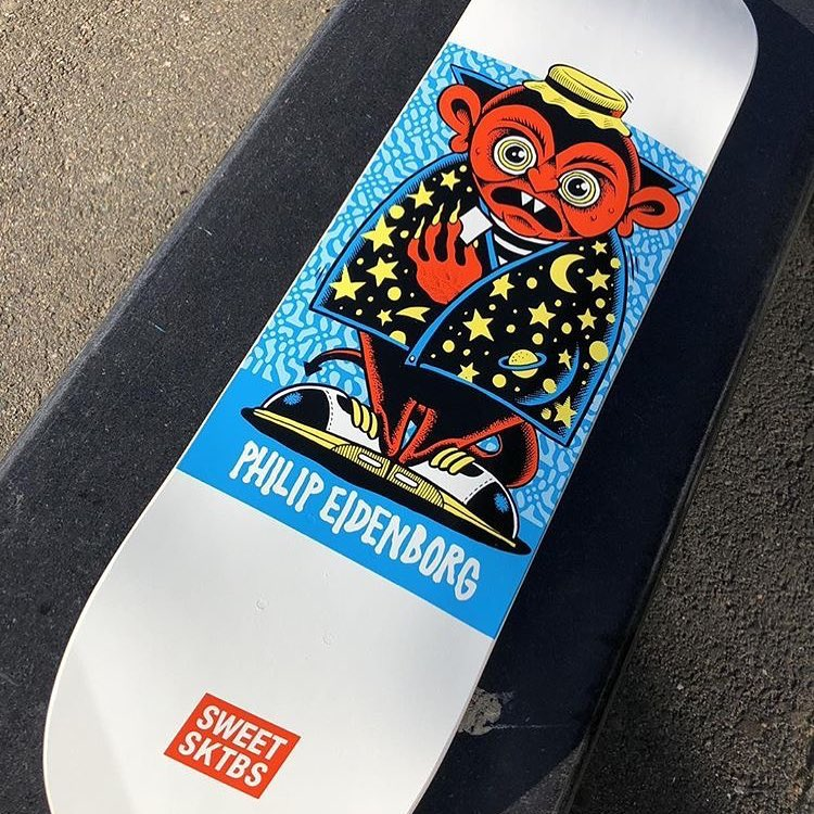 Character Series By Mander Sweet Skateboards 7