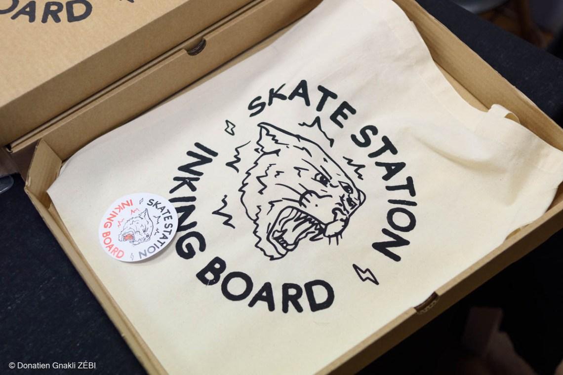 Skate Station 002 Inking Board Vernissage 19