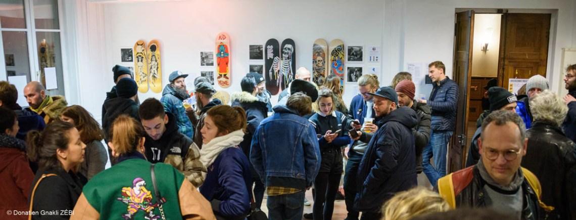 Skate Station 002 Inking Board Vernissage 36