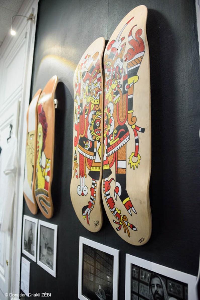 Skate Station 002 Inking Board Vernissage 40