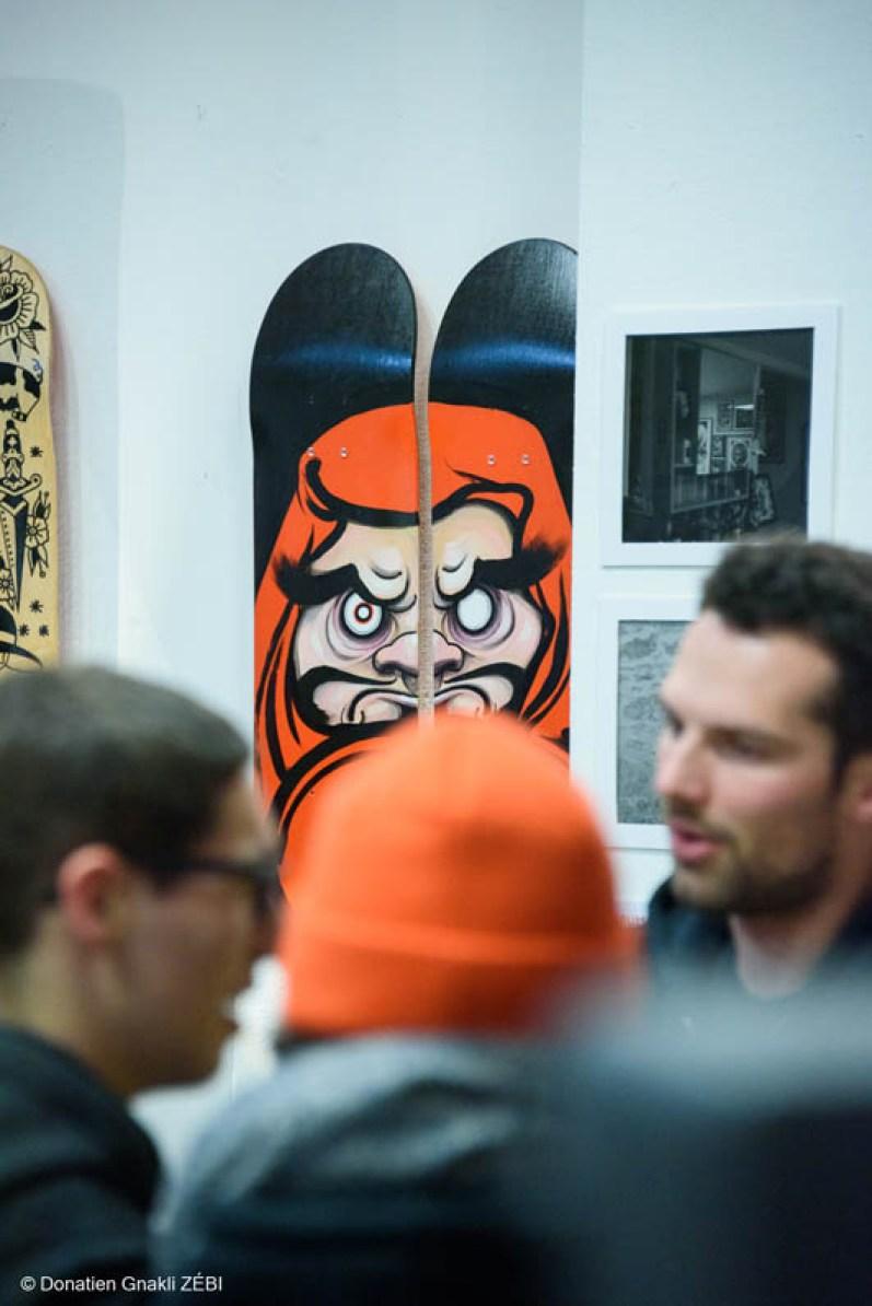 Skate Station 002 Inking Board Vernissage 42