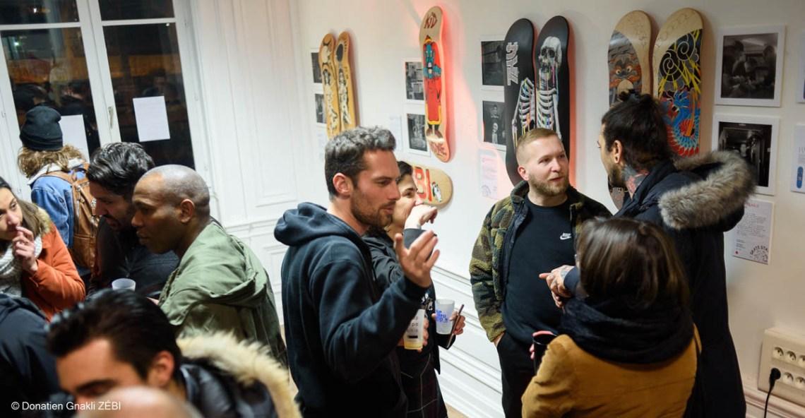 Skate Station 002 Inking Board Vernissage 50