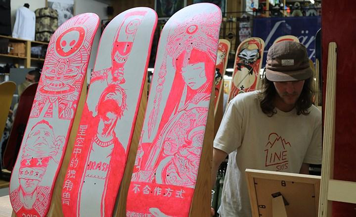 Doodha Meets Art Vol.IV Skate Exhibition