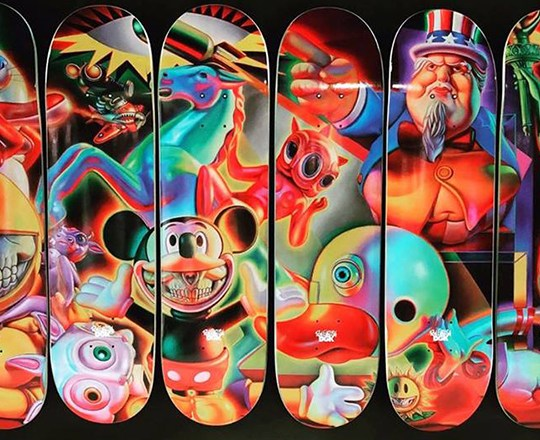 Ron English Dgk Skateboards Series