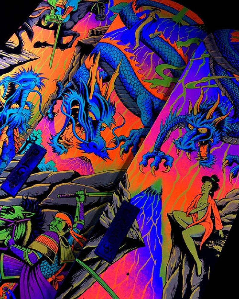 Blacklight Series By Darkstar Skateboards 8
