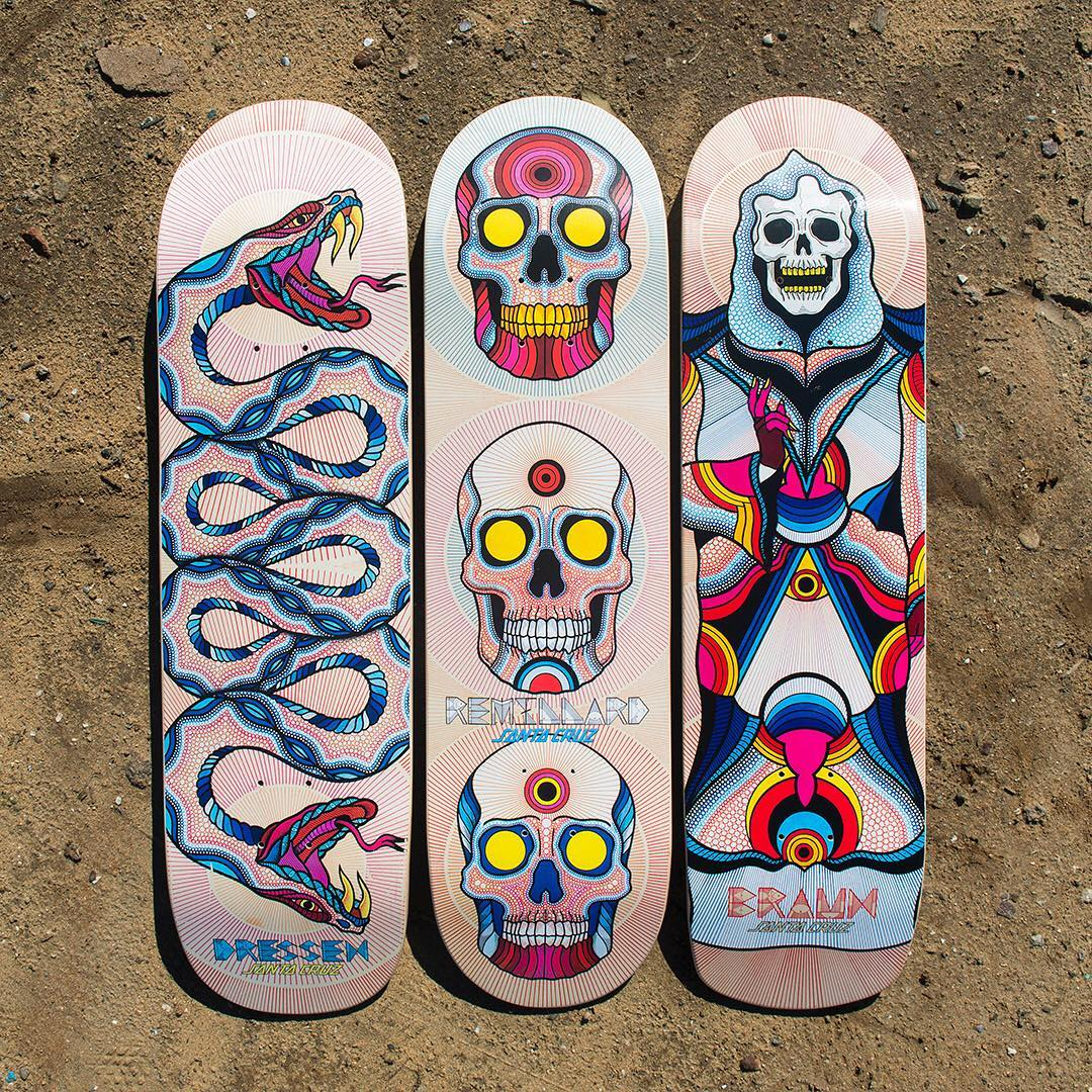 Bonethrower Santa Cruz Skateboards 1