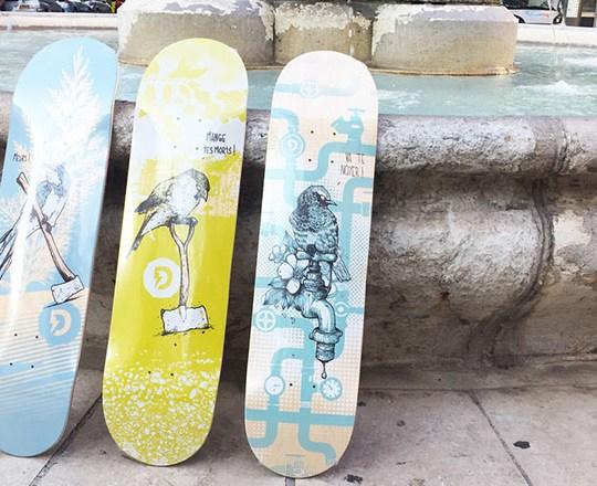Lo Series By Laurent Claveau Doble Skateboards 8