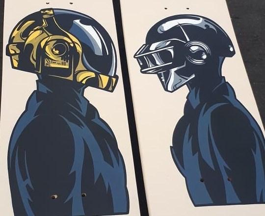 Daft Punk By Ze Toon