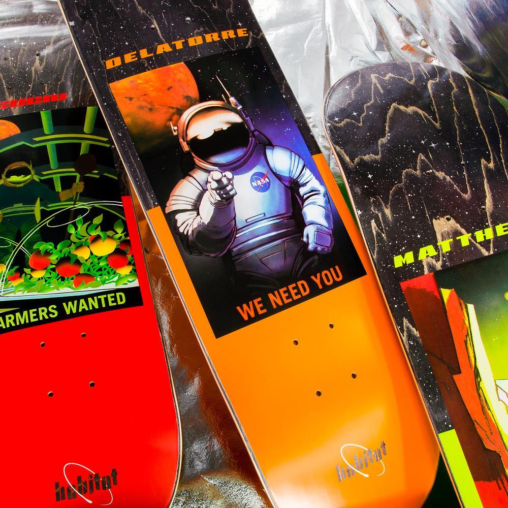 Nasa Collection Habitat Skateboards 11