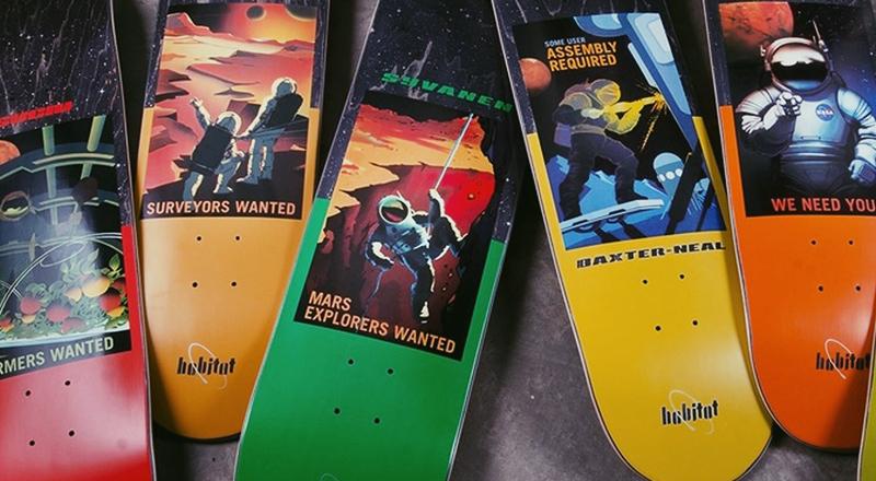 Nasa Collection Habitat Skateboards 12