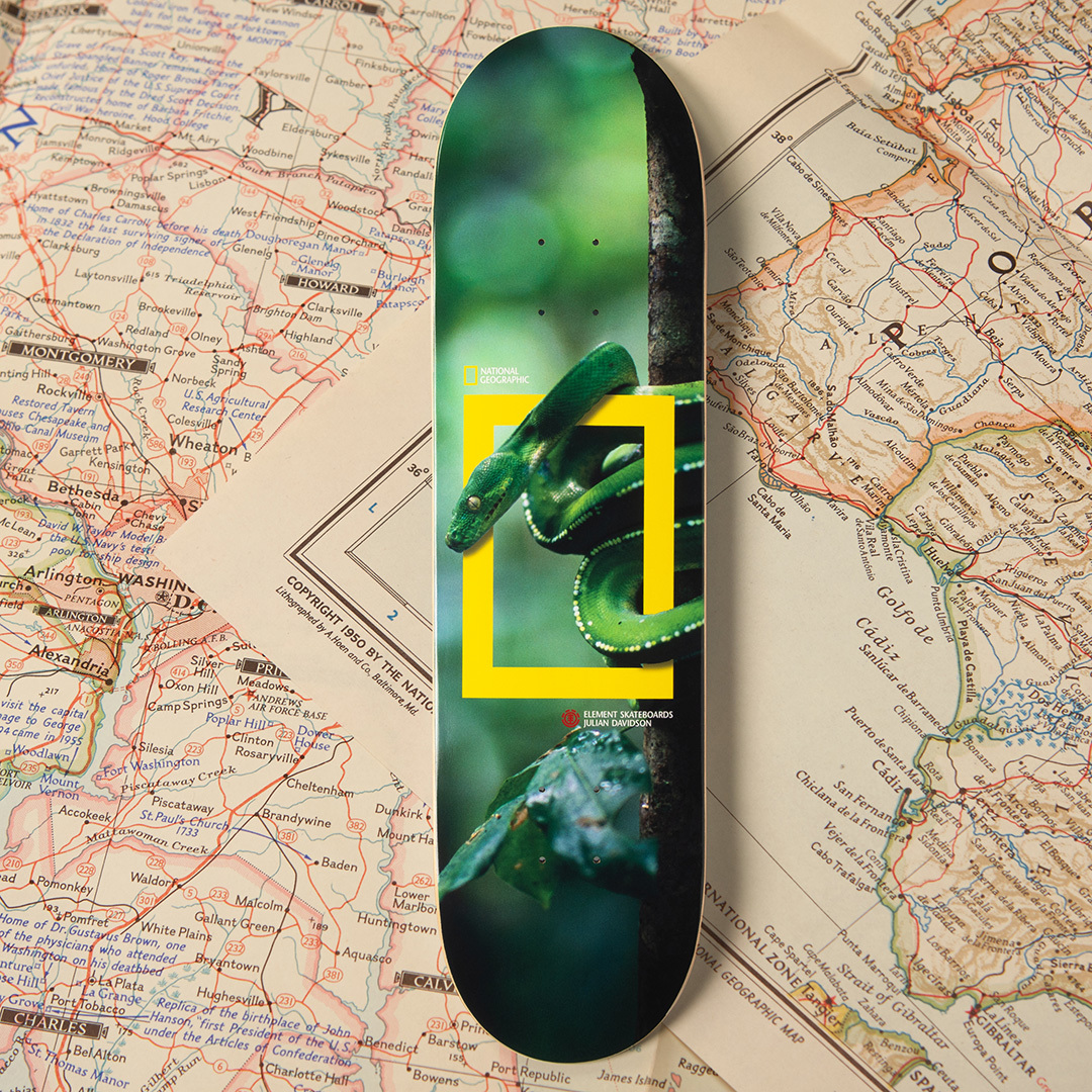 National Geographic Element Skateboards 4