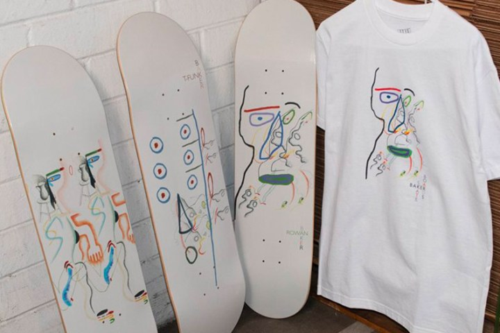 Slumber Series By Brian Degraw Baker Skateboards