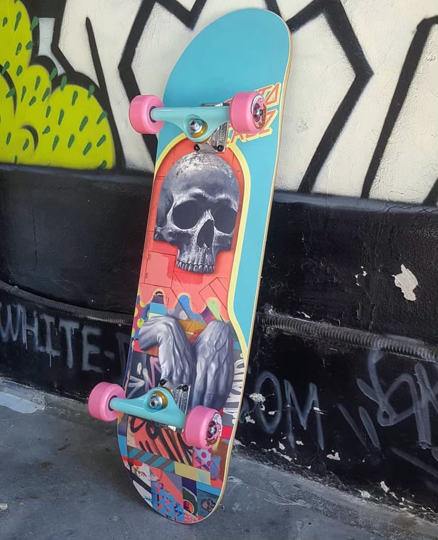 Michael Reader Santa Cruz Skateboards 4