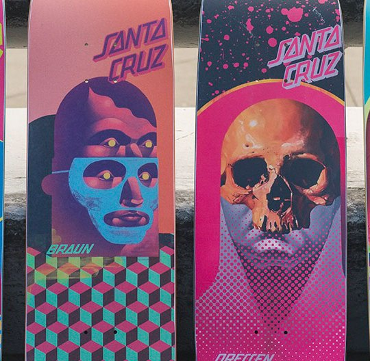 Michael Reader Santa Cruz Skateboards