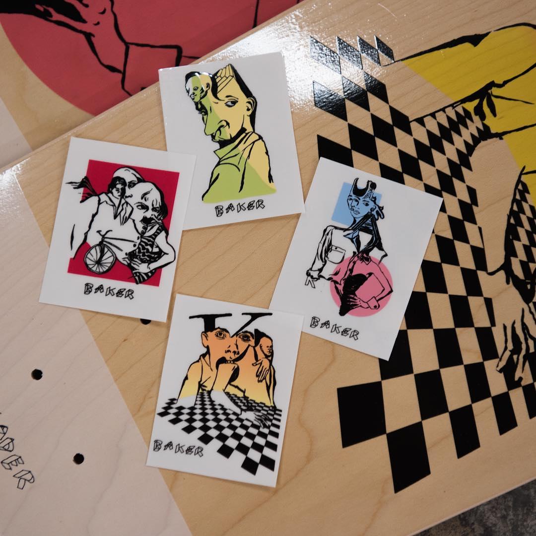 Mind Bends By Spanky Baker Skateboards 2
