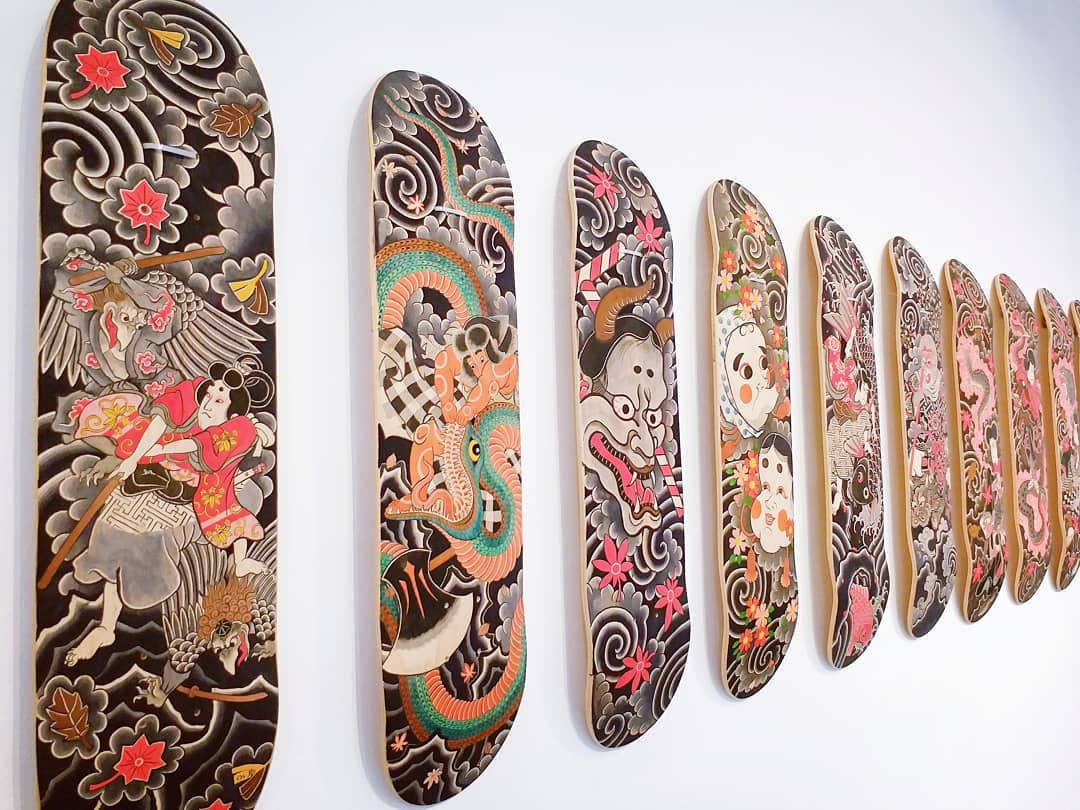 Original Painting On Decks By Horitatsu Mitomo 5