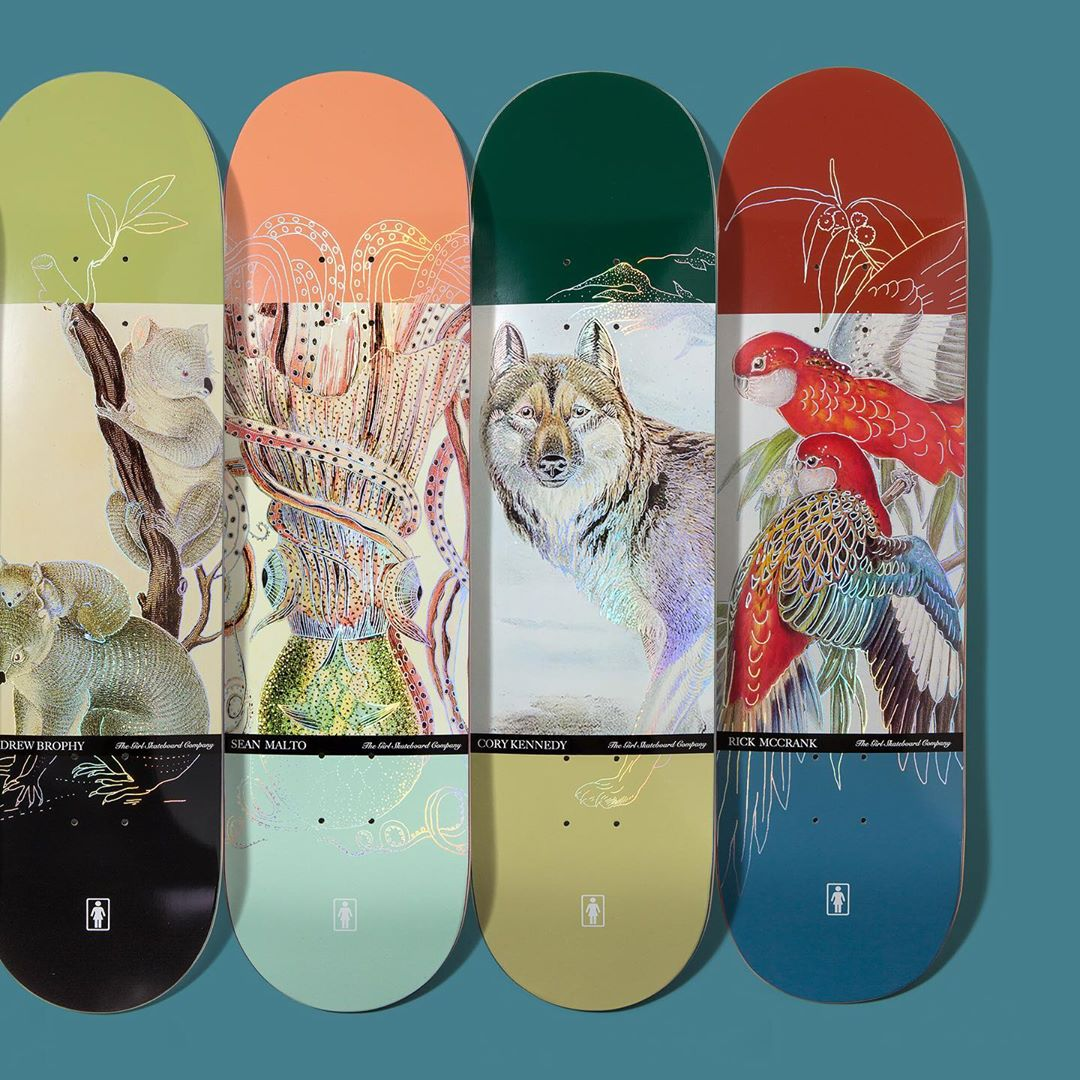 Ecol OG Series Par Girl Skateboards 2