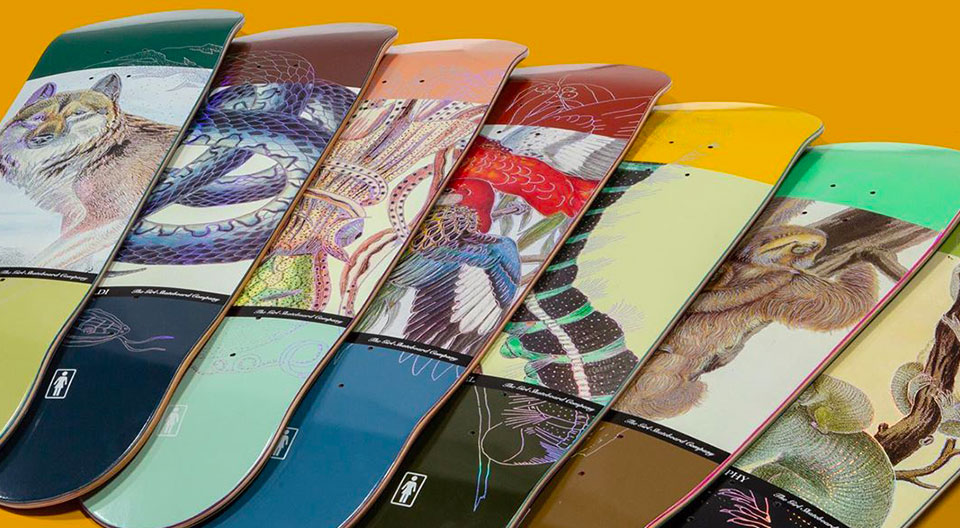 Ecol OG Series Par Girl Skateboards