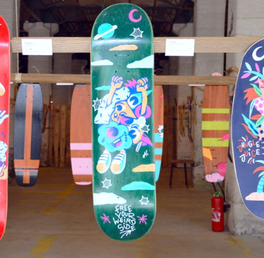 Hedi Baka Skateboards
