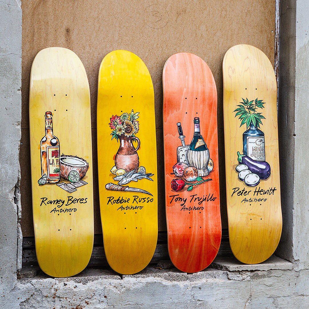 Still Life Series Todd Francis Antihero Skateboards 4.jpg