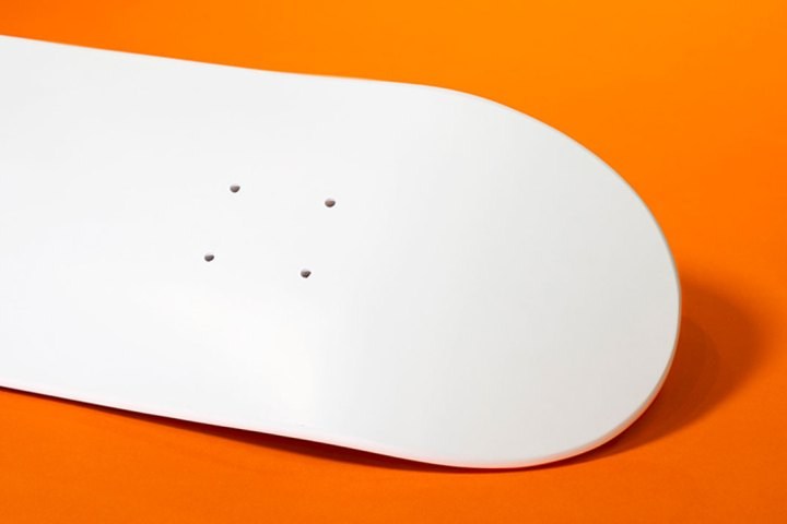 White Skateboard Par Tigerclaw Supplies 5