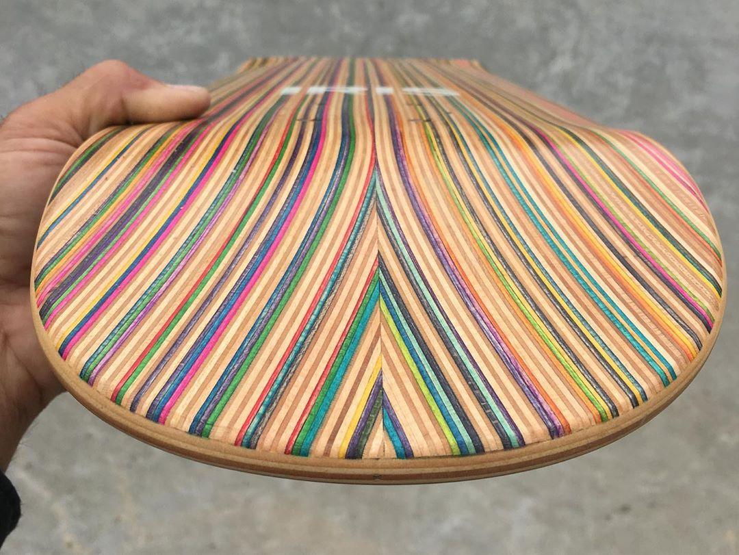 Recycled Decks By Iris Skateboards 4