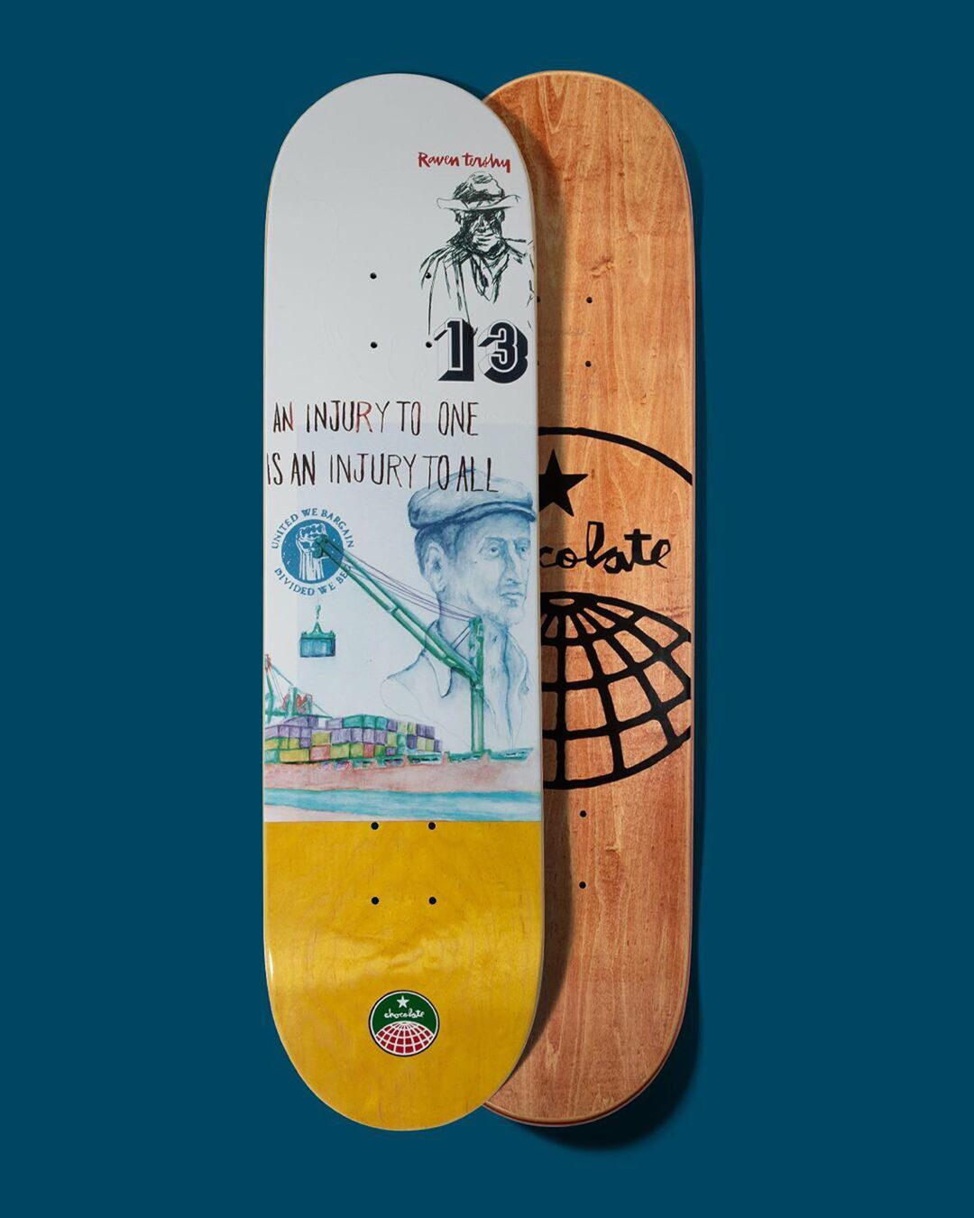94 Stevedore Series Chocolate Skateboard 3