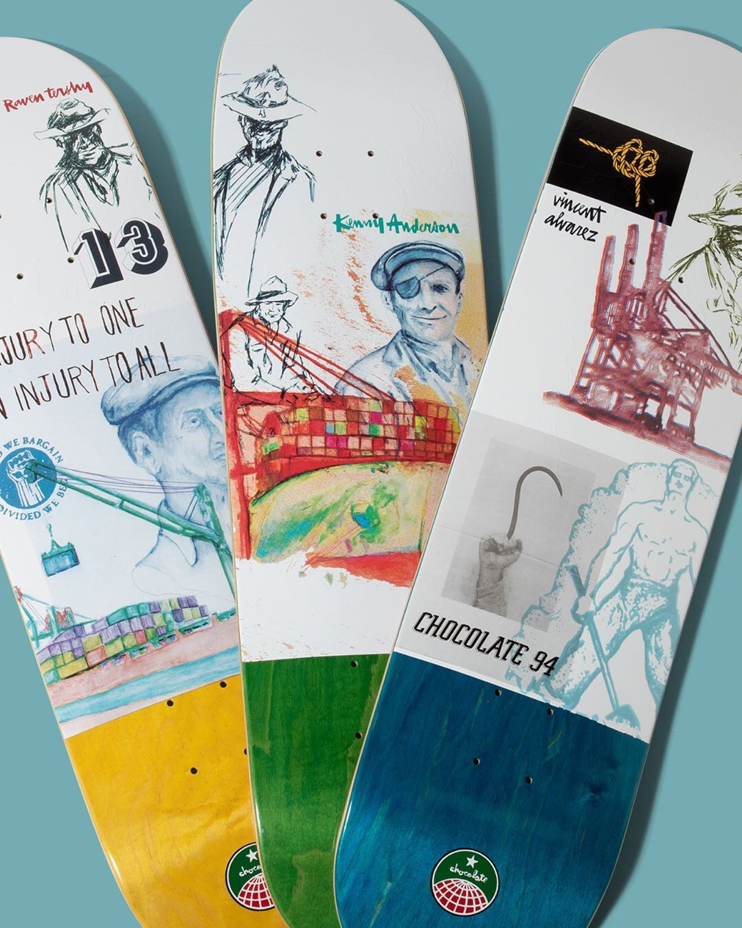94 Stevedore Series Chocolate Skateboard 4