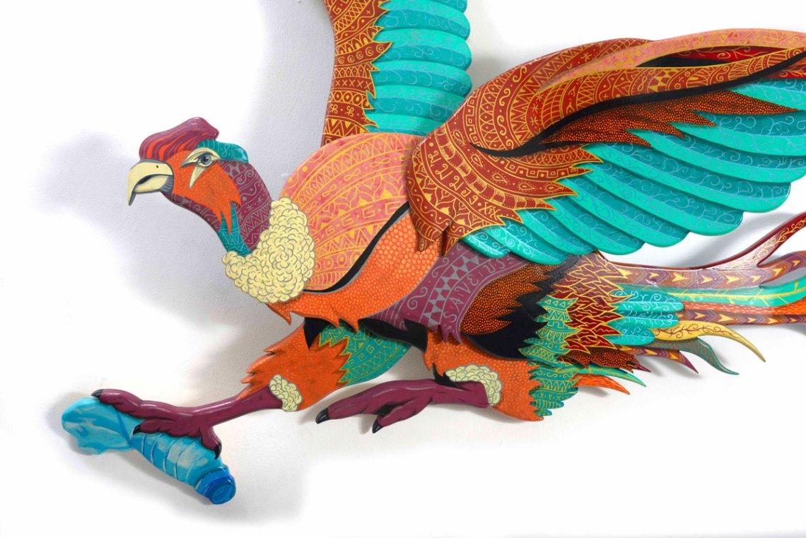 Condor Cleaner Sculpture En Skate Par Julien Deniau 3