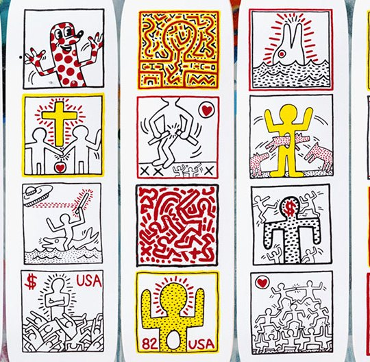One Man Show Keith Haring Skateroom
