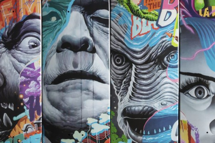 Tristan Eaton The Hundreds Skateboards 1