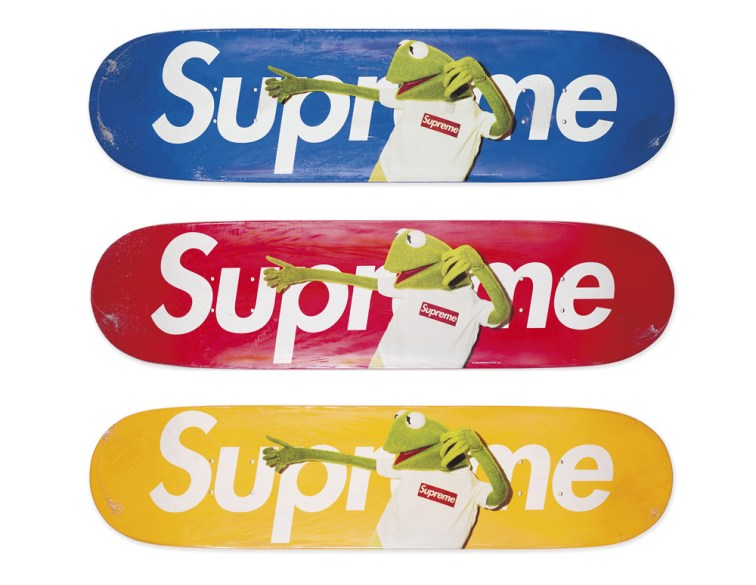 Skateboard Auction Supreme Christies Ny15