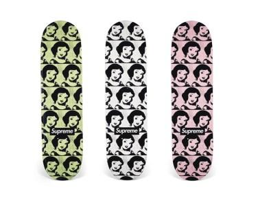 Skateboard Auction Supreme Christies Ny28