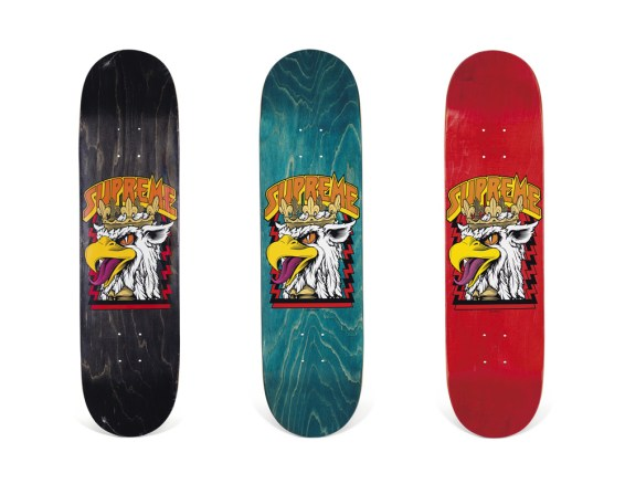 Skateboard Auction Supreme Christies Ny33