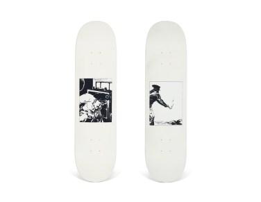 Skateboard Auction Supreme Christies Ny35