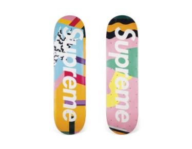 Skateboard Auction Supreme Christies Ny37