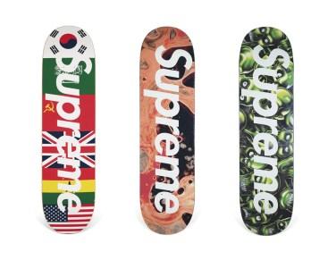 Skateboard Auction Supreme Christies Ny48
