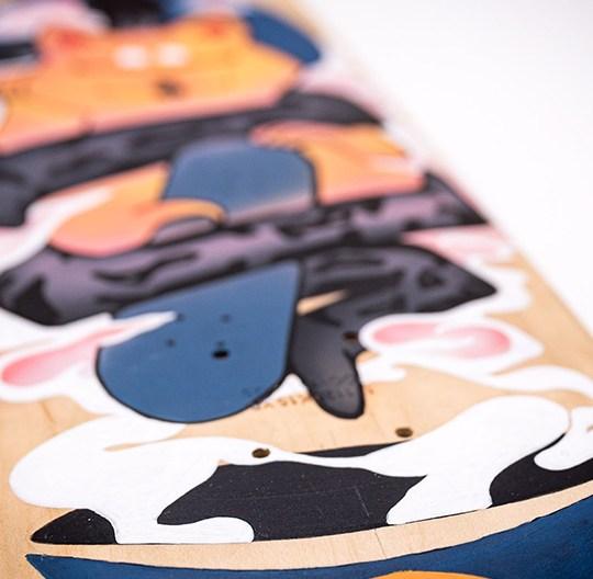 Custom Skateboard Par Bambi 1