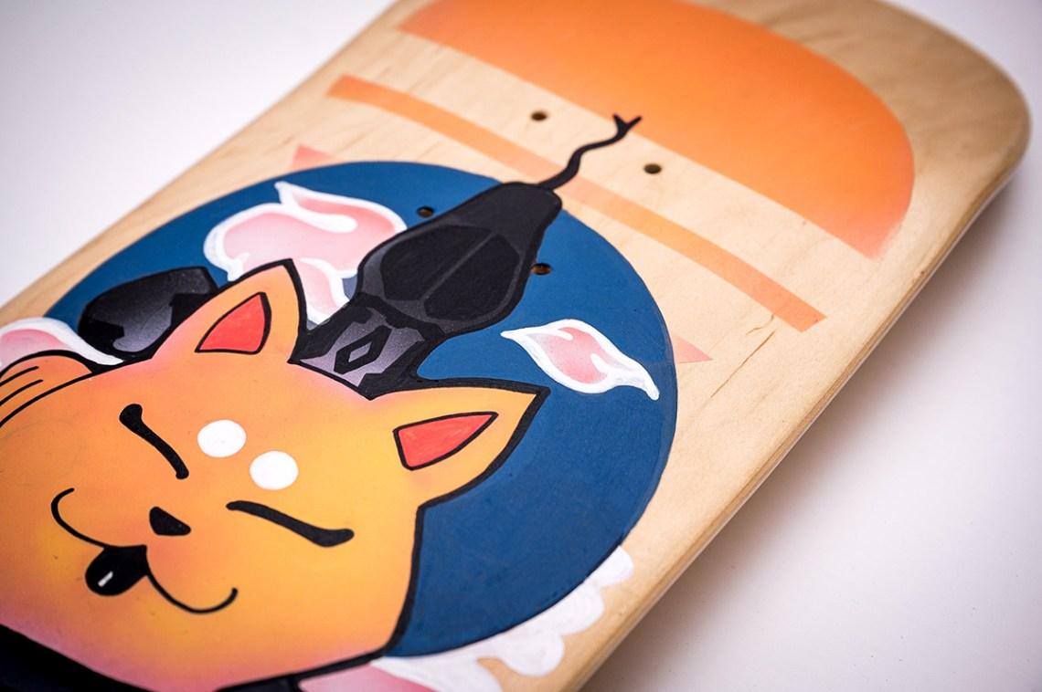 Custom Skateboard Par Bambi 5