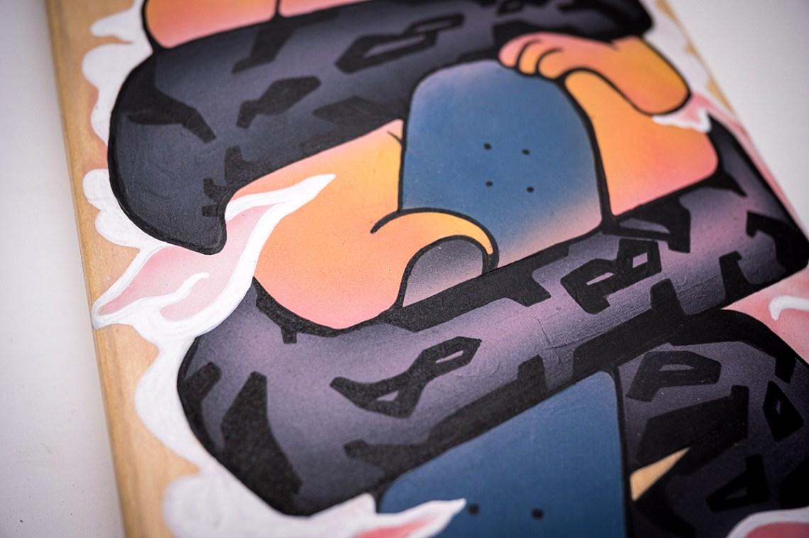 Custom Skateboard Par Bambi 7